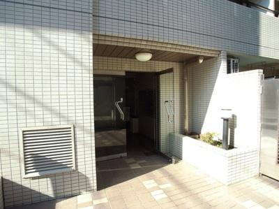 【エントランス】桜新町アムフラット