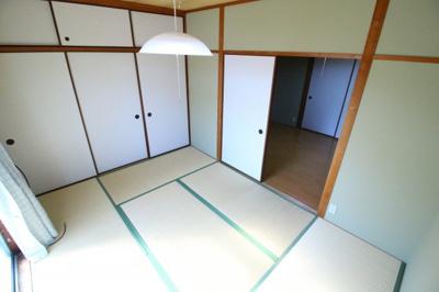 【寝室】須磨寺ハイツ 東棟