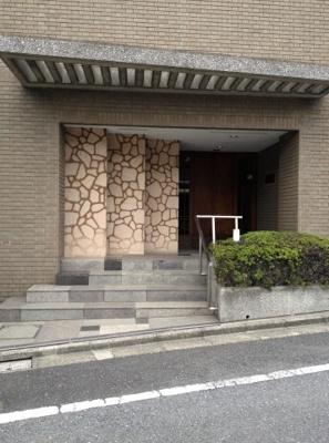 【エントランス】松濤第一ハウス