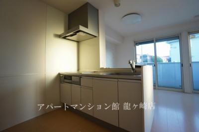 【キッチン】クレスト藤ヶ丘ⅢA棟