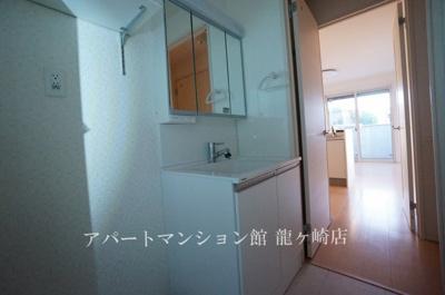 【独立洗面台】クレスト藤ヶ丘ⅢA棟