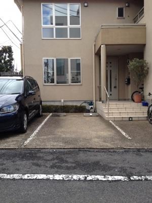 【駐車場】Casa MM(渋谷賃貸一戸建て)