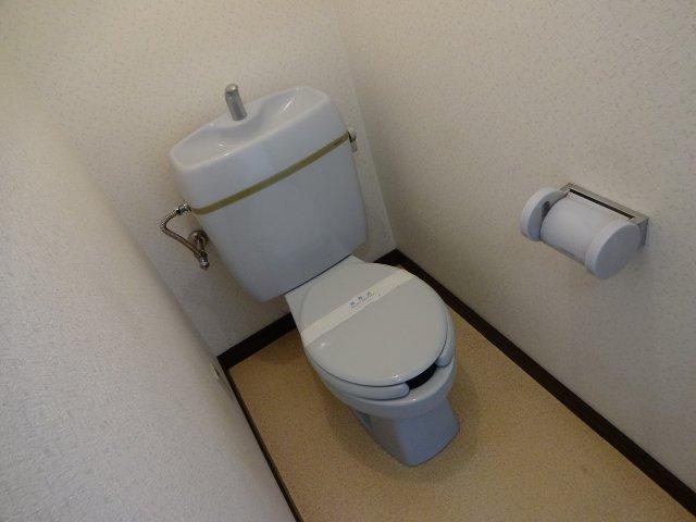 居村マンション トイレ