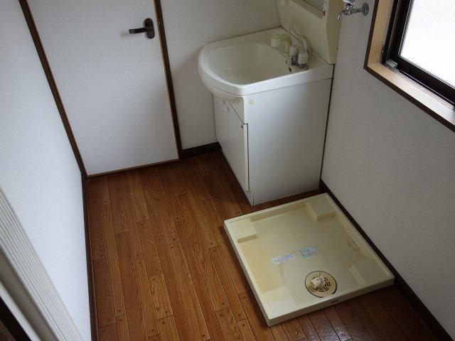 居村マンション 洗面所