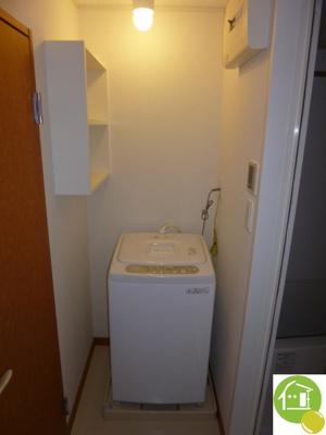 室内に洗濯機※写真はイメージです