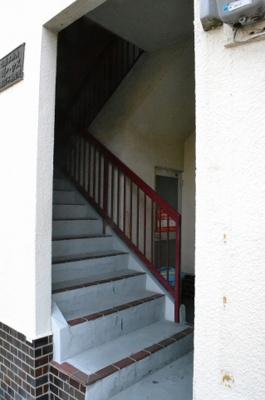 共用部分、階段です