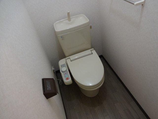 【トイレ】ハレルヤハイツ