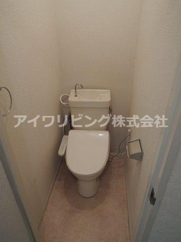 温水洗浄便座完備【リーバイスハイツⅠ】