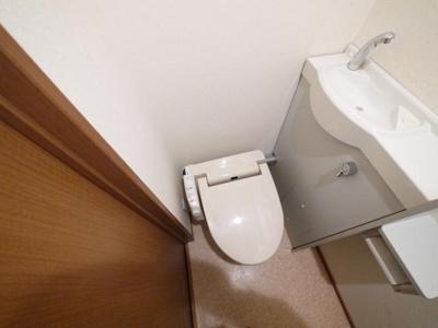 【トイレ】ナカタニマンション