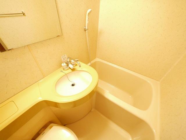 洗面台はこちらです。
