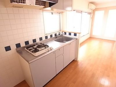 コンドミニアムヴェルジュ六本松(1LDK) キッチン