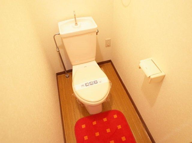 リバーサイド西新(2LDK) トイレ