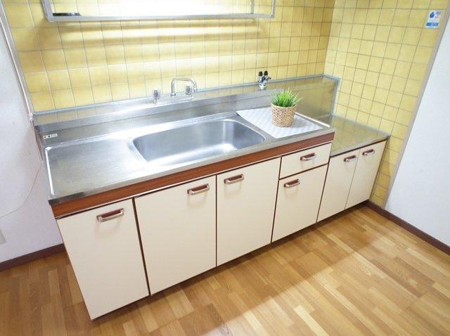 リバーサイド西新(2LDK) キッチン