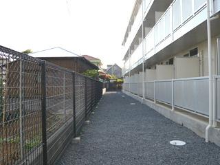 屋根付き駐輪場付き