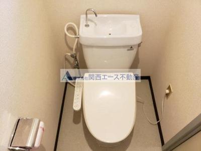 【トイレ】リバーサイド1号館