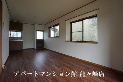【居間・リビング】河内長竿貸家