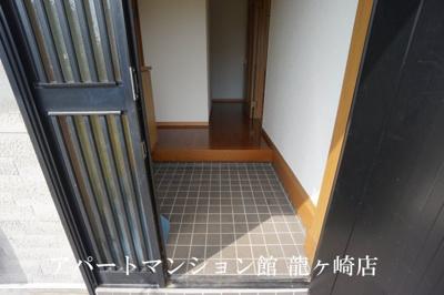 【玄関】河内長竿貸家