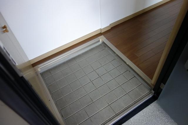 サンライフアオキ3 玄関