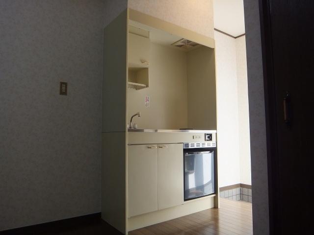 【キッチン】ブルーローズハウス