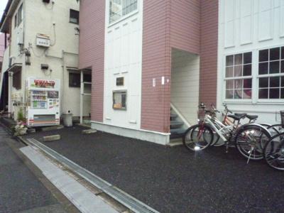 竹林コテージⅡ 駐車場