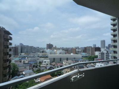 ベルフォーレ バルコニーからの眺望です。