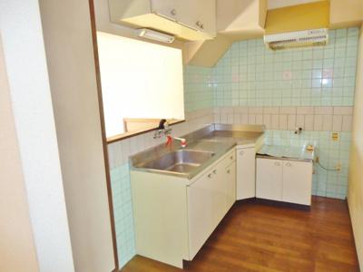 嬉しい対面キッチン