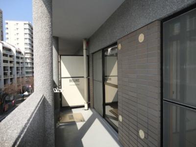 大濠けやき館(4LDK) バルコニー