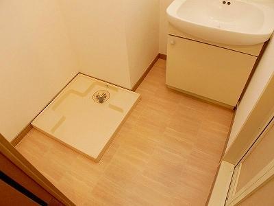 クレベール博多(1LDK) 洗面所