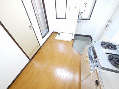 【キッチン】岡本ハイツ(法蓮町)