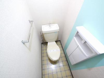 【トイレ】岡本ハイツ(法蓮町)