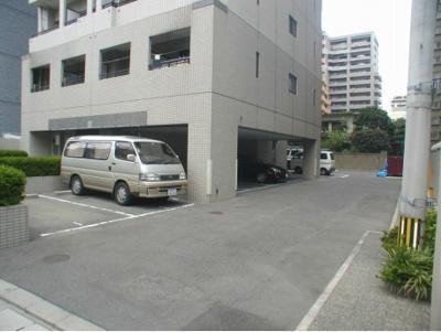 キーファ大濠(1DK) 駐車場