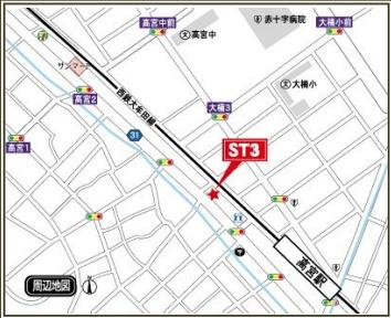 イ・カーサM'SⅡ(1R)  地図