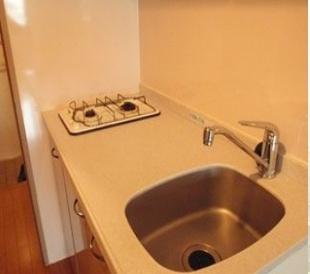 イ・カーサM'SⅡ(1R)  キッチン 写真は別号室タイプです