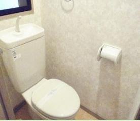 イ・カーサM'SⅡ(1R)  トイレ 写真は別号室タイプです