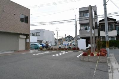 【外観】百舌鳥陵南倉庫付事務所