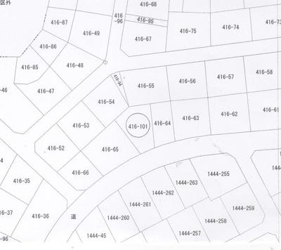 【区画図】北区津高