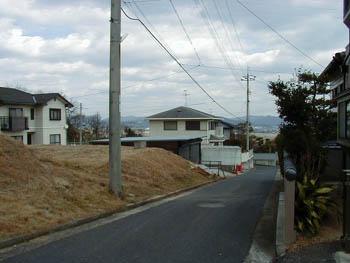 【前面道路含む現地写真】邑久町向山