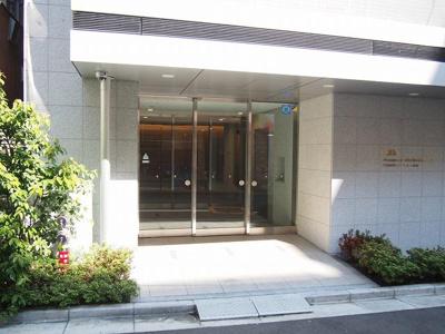 【エントランス】門前仲町レジデンス八番館