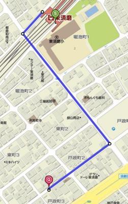 【地図】パレド・ルミエール
