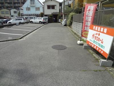 池田市旭丘1丁目月極駐車場