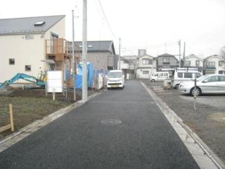 大田区田園調布本町新築一戸建て6680万円前面道路1