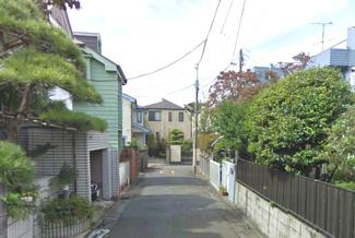 世田谷区深沢1丁目中古一戸建て7000万円前面道路2