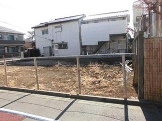 世田谷区桜3丁目売地5980万円現地写真1
