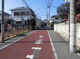 世田谷区桜3丁目売地5980万円前面道路