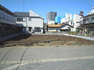 世田谷区新町1丁目建築条件付売地7600万円現地写真1
