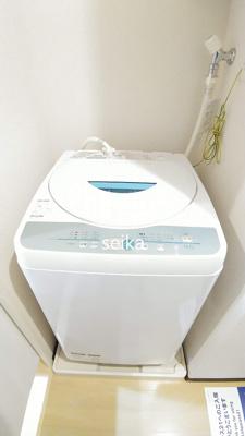 洗濯機も付いてます