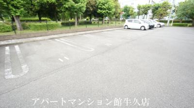 【駐車場】シャルマンⅢF(高野台)