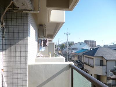 【バルコニー】石橋パークヒルズ☆1K