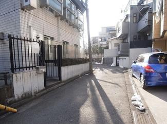 渋谷区笹塚2丁目売地5180万円前面道路1