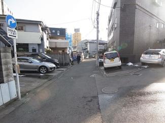 渋谷区笹塚2丁目売地5180万円前面道路2